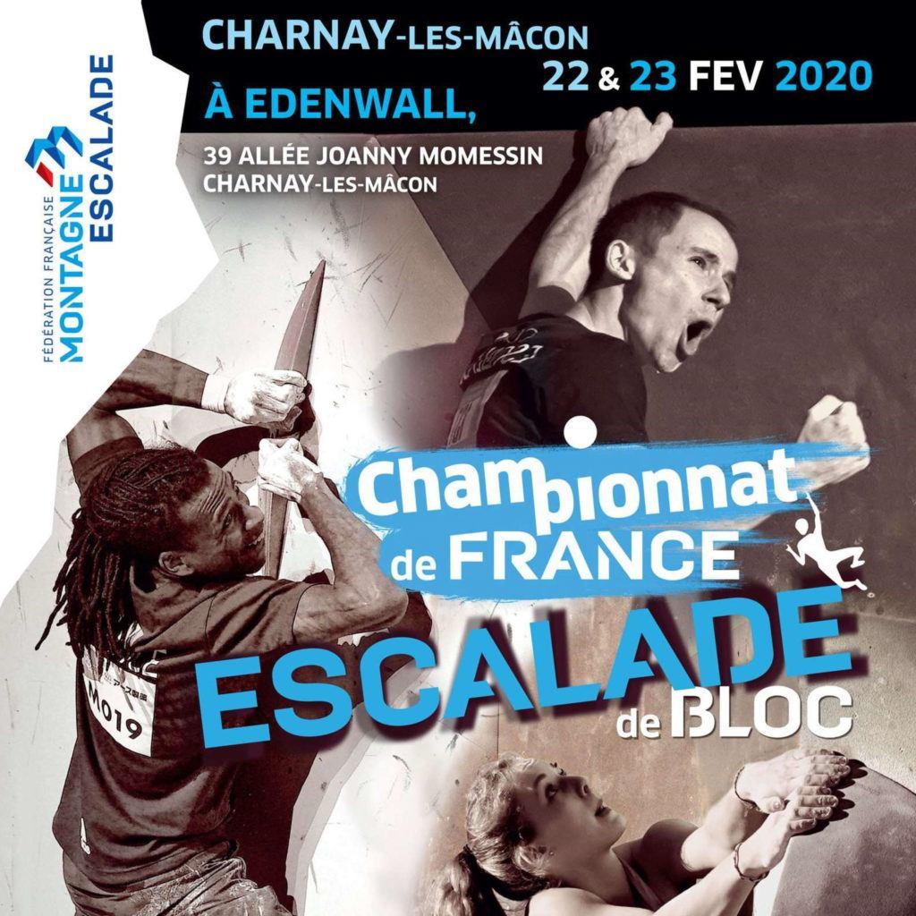 Tyyny soutient le championnat de France d'escalade de bloc